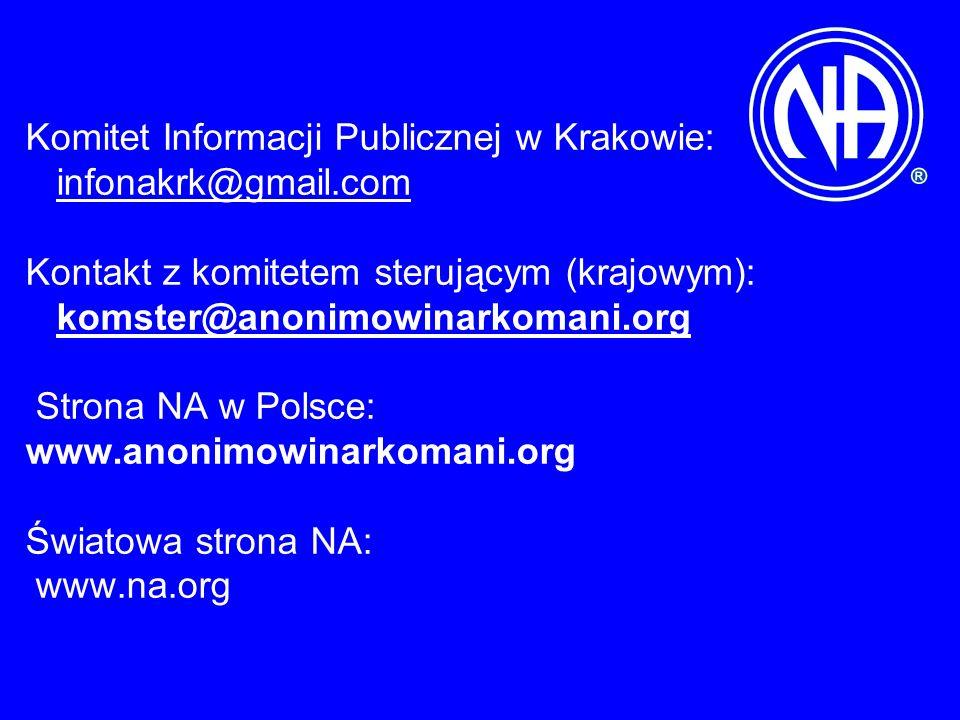 Komitet Informacji Publicznej w Krakowie: infonakrk@gmail