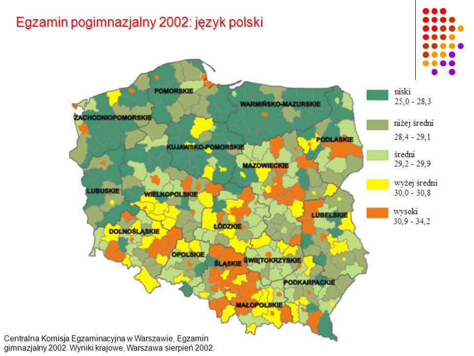 Egzamin pogimnazjalny 2002: język polski