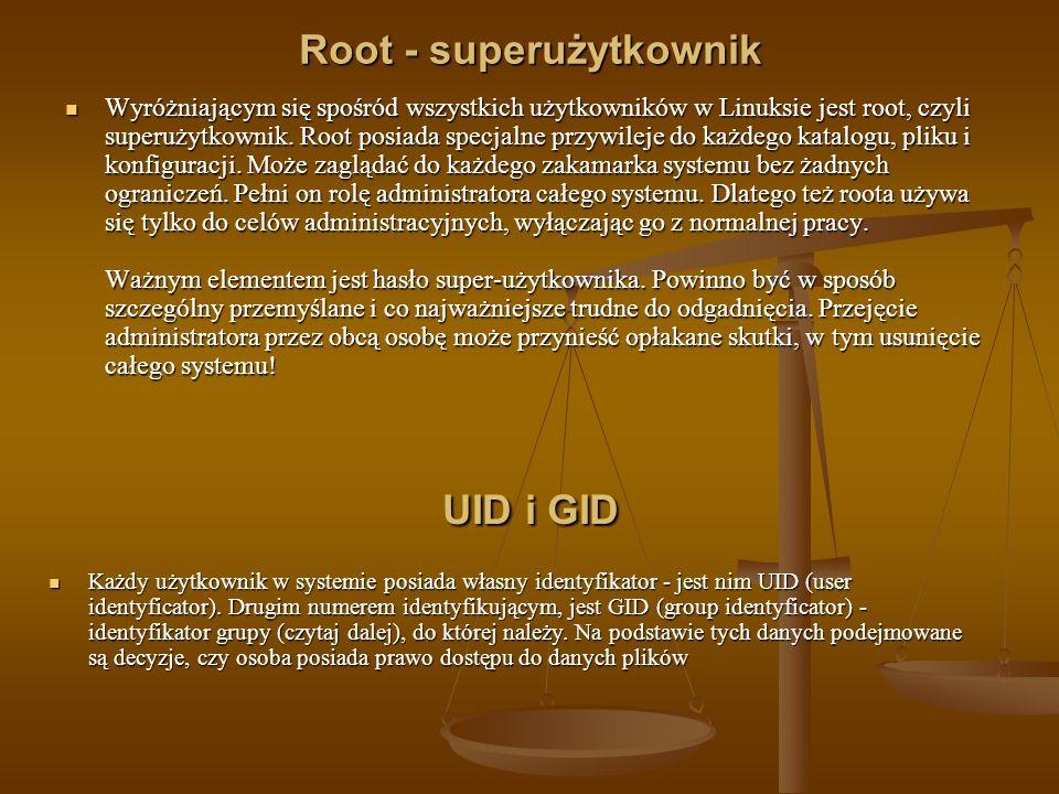 Root - superużytkownik