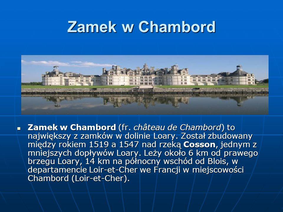 Zamek w Chambord
