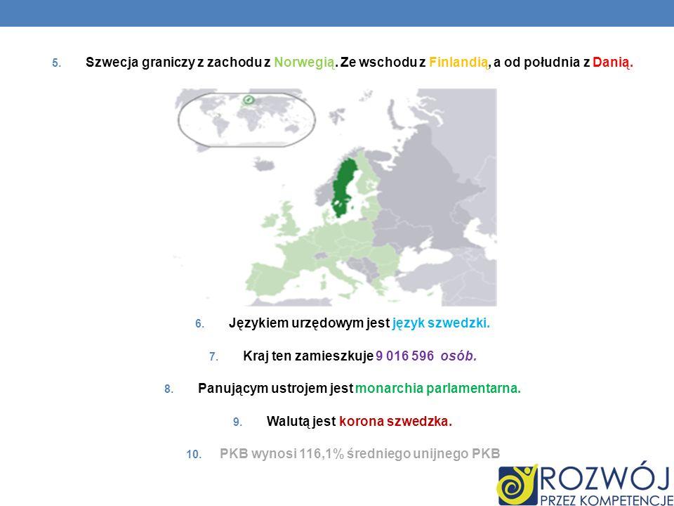 Językiem urzędowym jest język szwedzki.