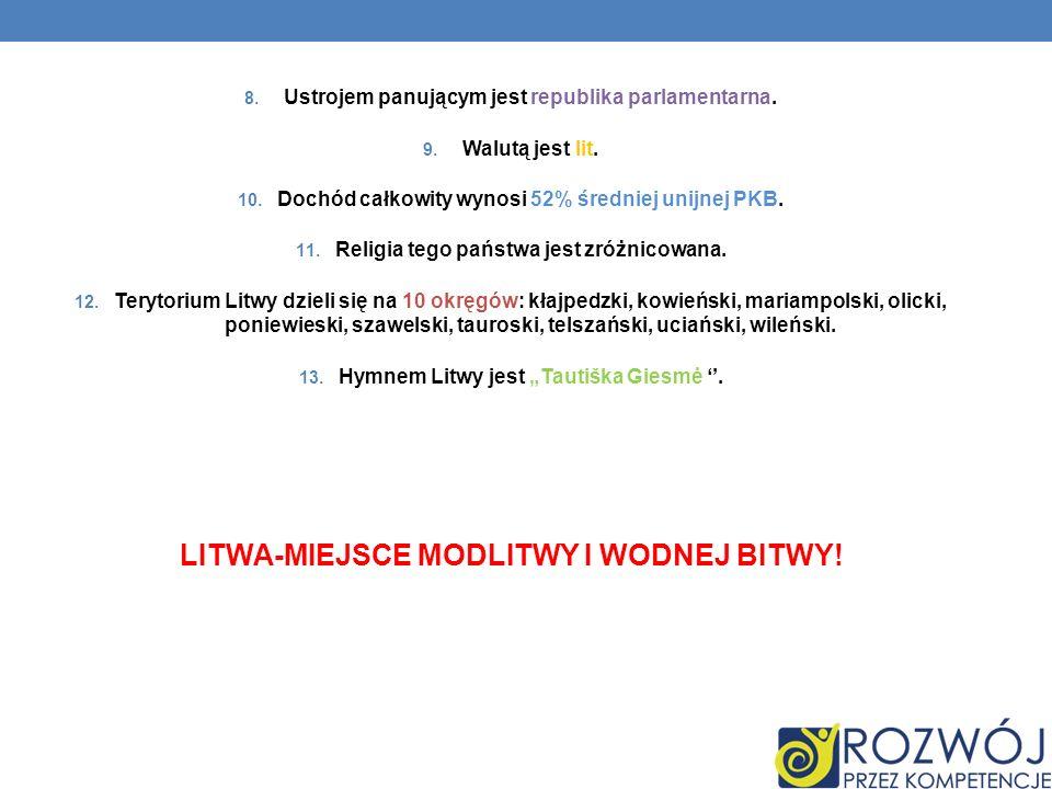 LITWA-MIEJSCE MODLITWY I WODNEJ BITWY!