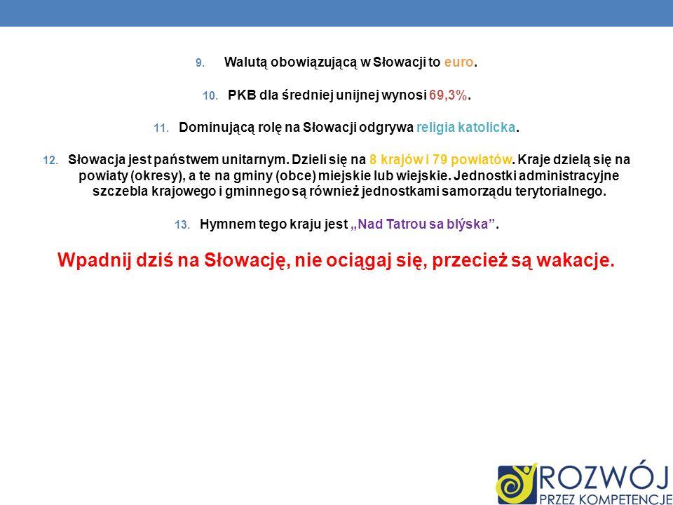 Wpadnij dziś na Słowację, nie ociągaj się, przecież są wakacje.