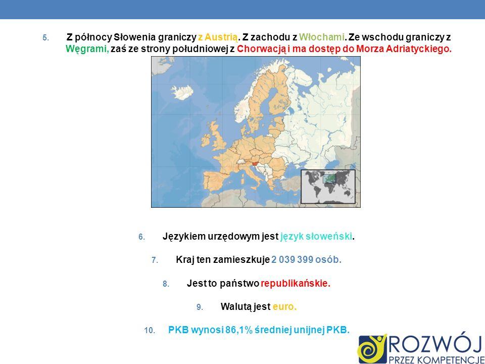Językiem urzędowym jest język słoweński.