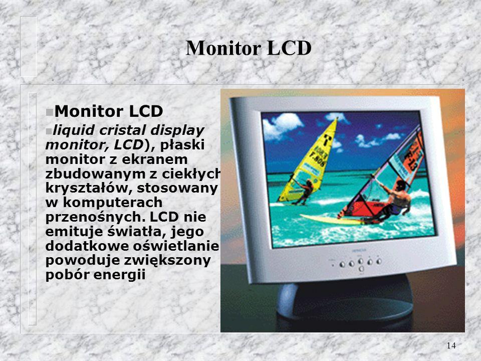 Monitor LCD Monitor LCD