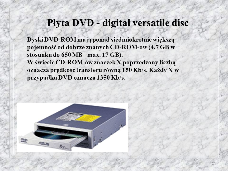 Płyta DVD - digital versatile disc