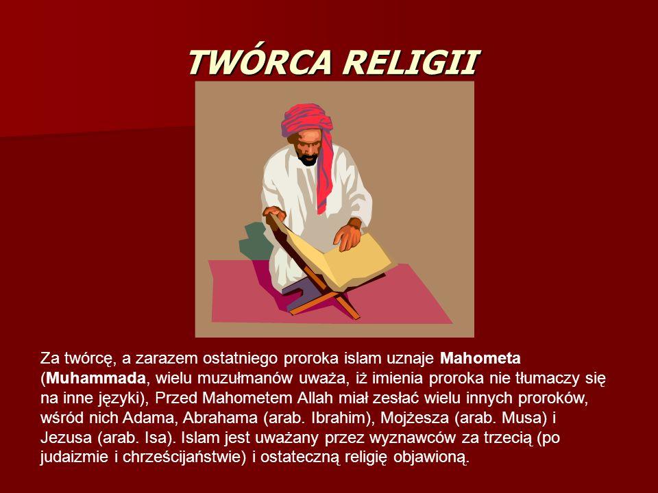 TWÓRCA RELIGII