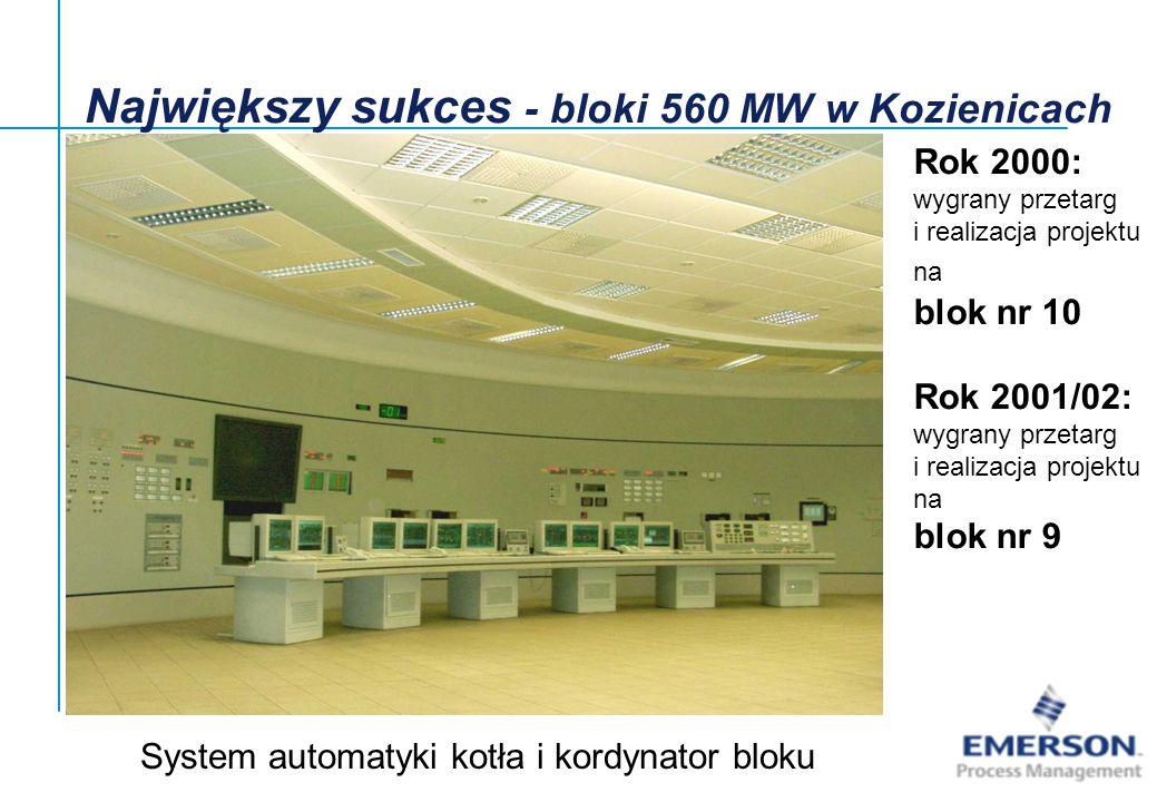 Największy sukces - bloki 560 MW w Kozienicach
