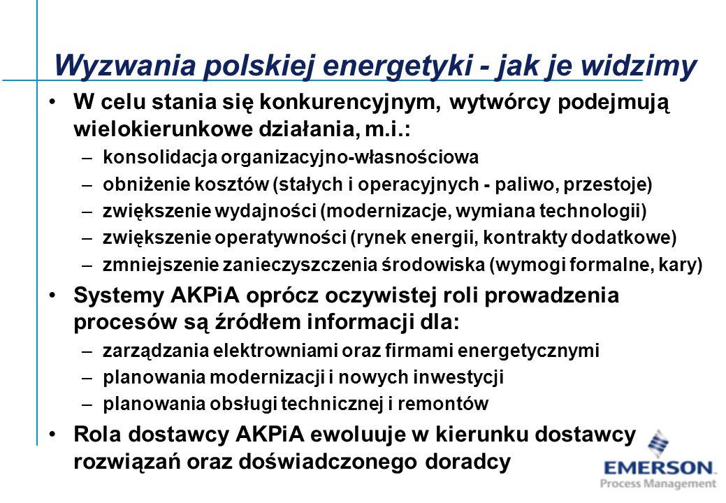 Wyzwania polskiej energetyki - jak je widzimy