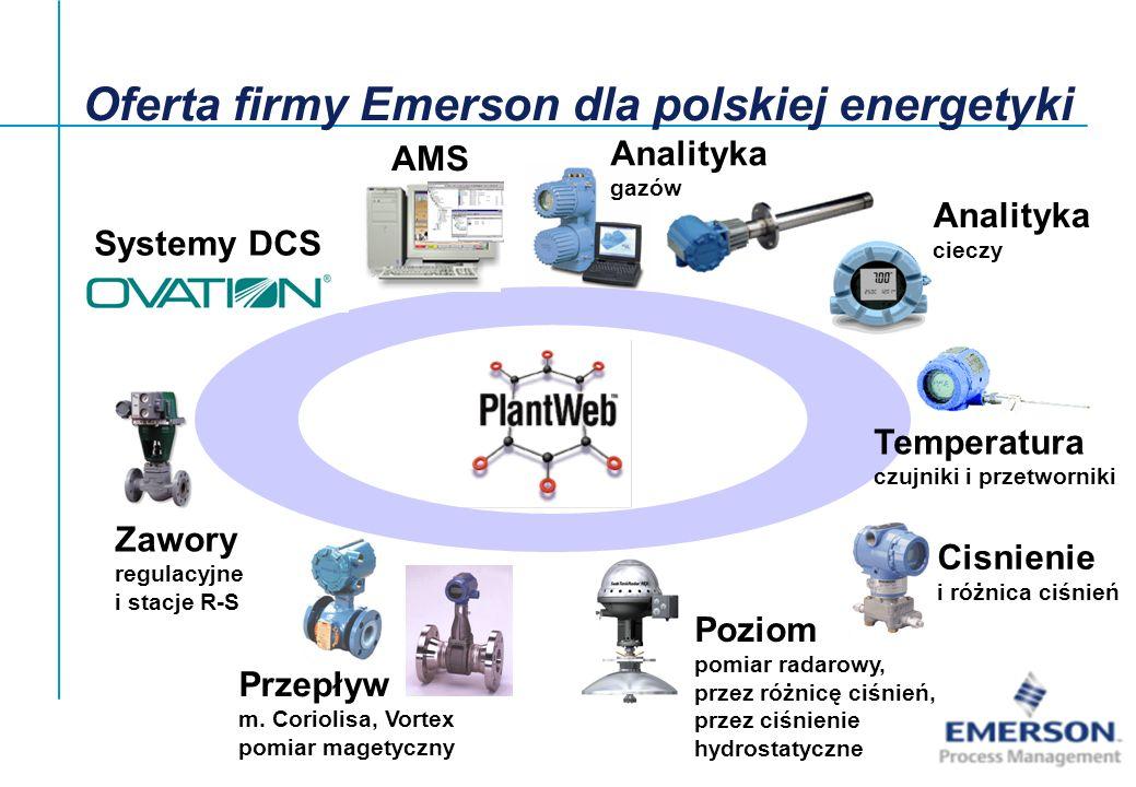 Oferta firmy Emerson dla polskiej energetyki