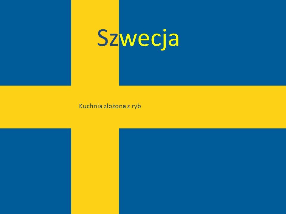 Szwecja Kuchnia złożona z ryb