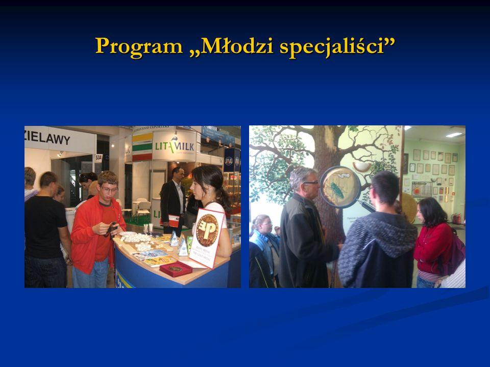 """Program """"Młodzi specjaliści"""