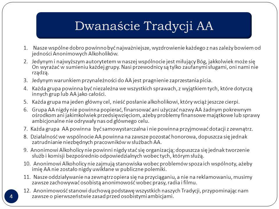 Dwanaście Tradycji AA