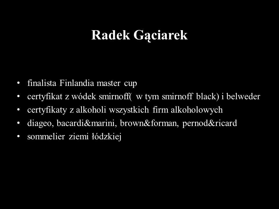 Radek Gąciarek finalista Finlandia master cup