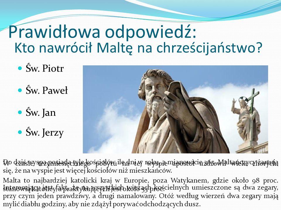 Kto nawrócił Maltę na chrześcijaństwo