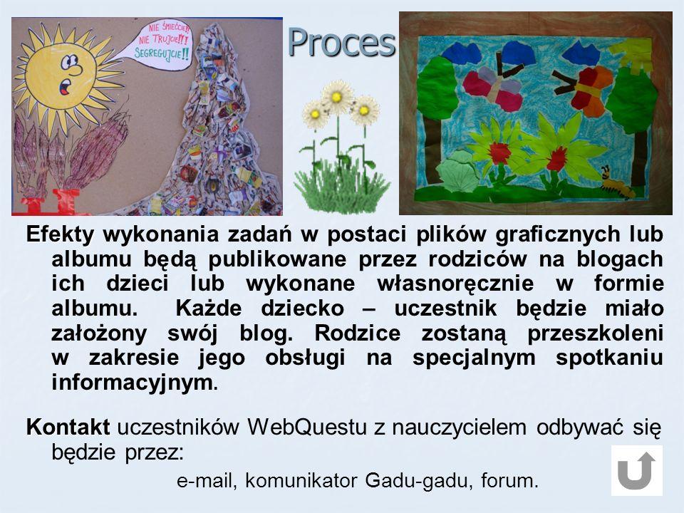 e-mail, komunikator Gadu-gadu, forum.