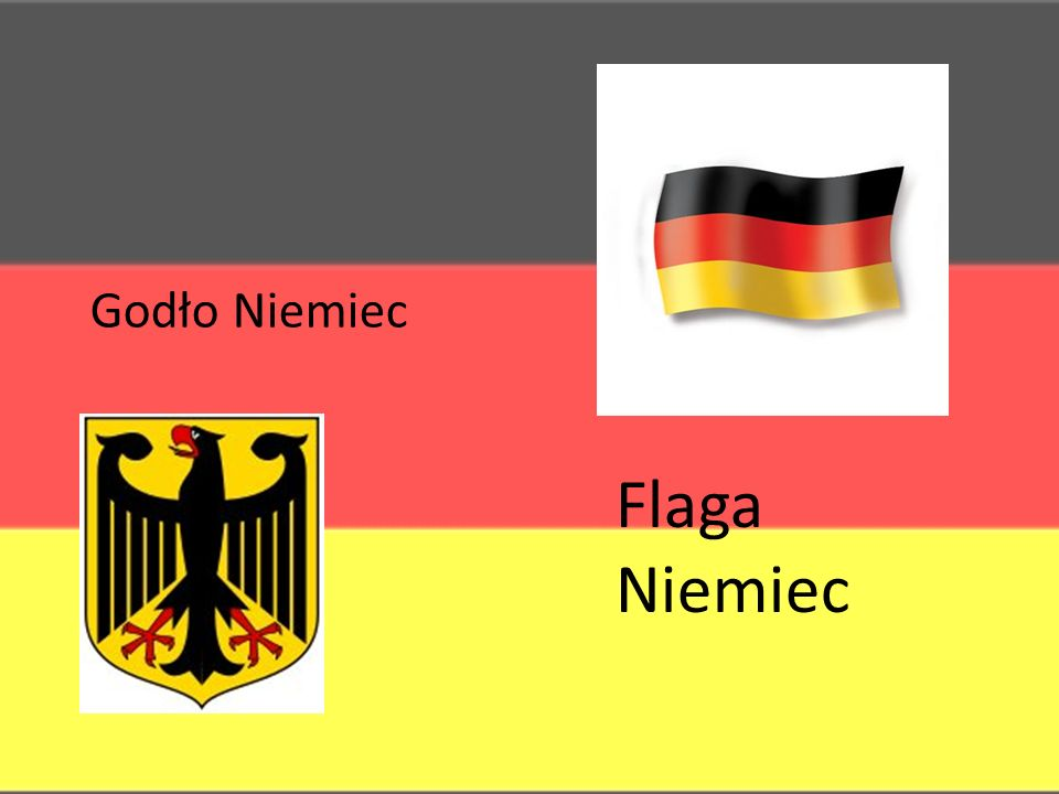 Godło Niemiec Flaga Niemiec