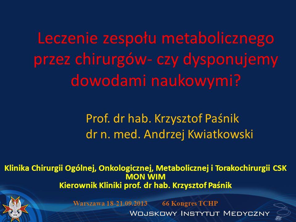 Warszawa 18-21.09.2013 66 Kongres TCHP
