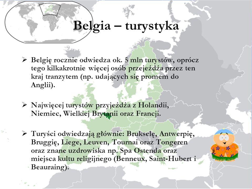 Belgia – turystyka