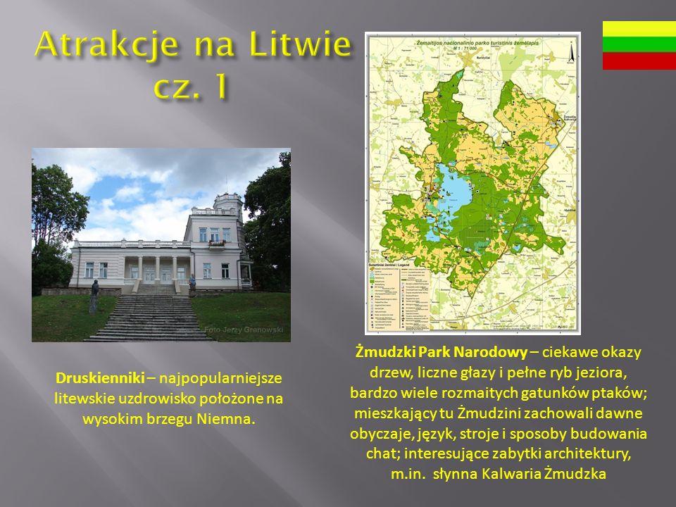 Atrakcje na Litwie cz. 1