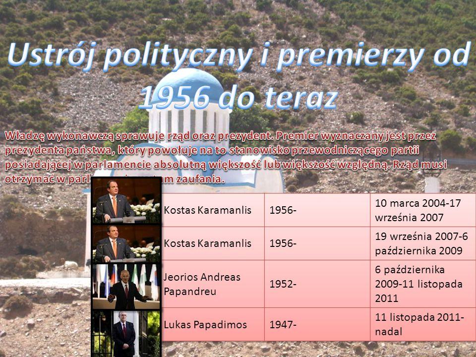 Ustrój polityczny i premierzy od 1956 do teraz
