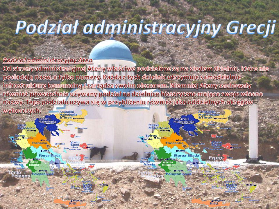 Podział administracyjny Grecji