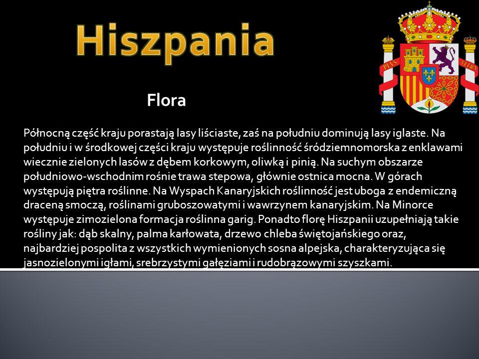 Hiszpania Flora.