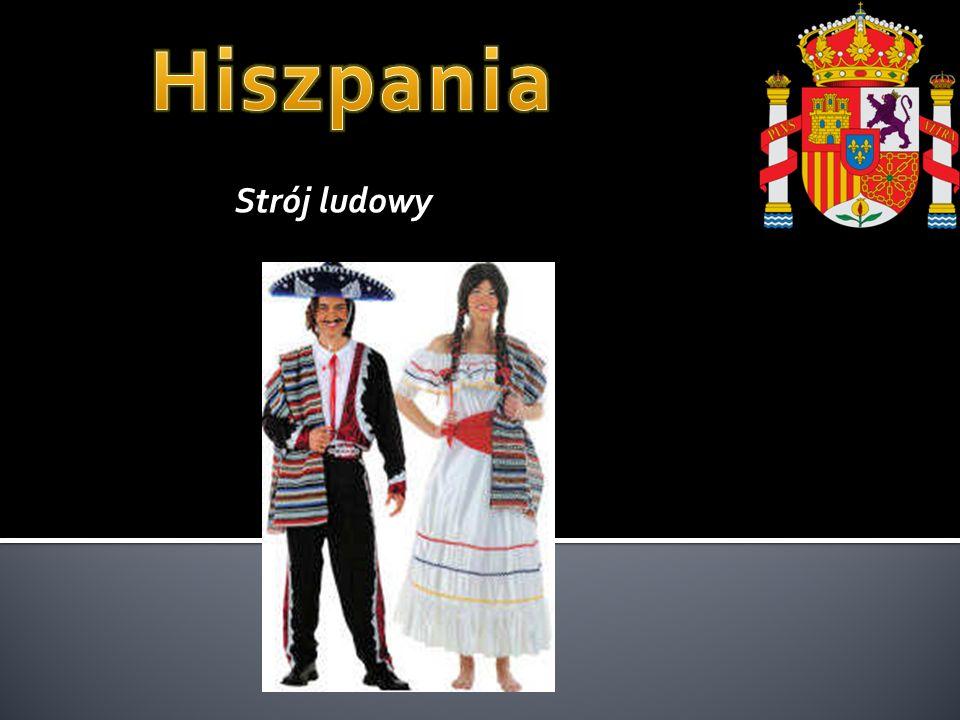 Hiszpania Strój ludowy