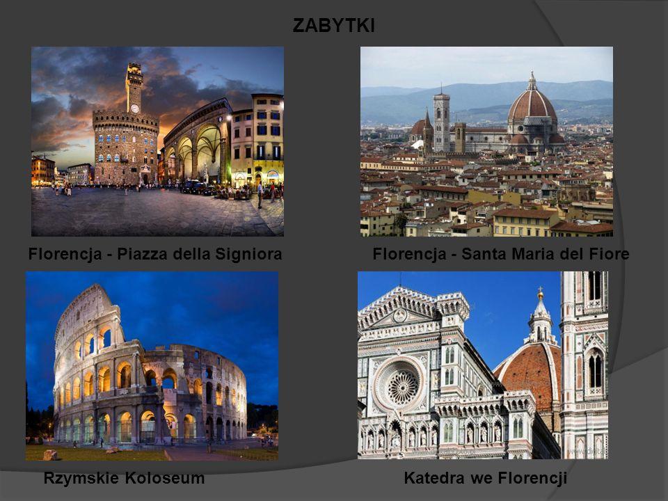 ZABYTKI Florencja - Piazza della Signiora