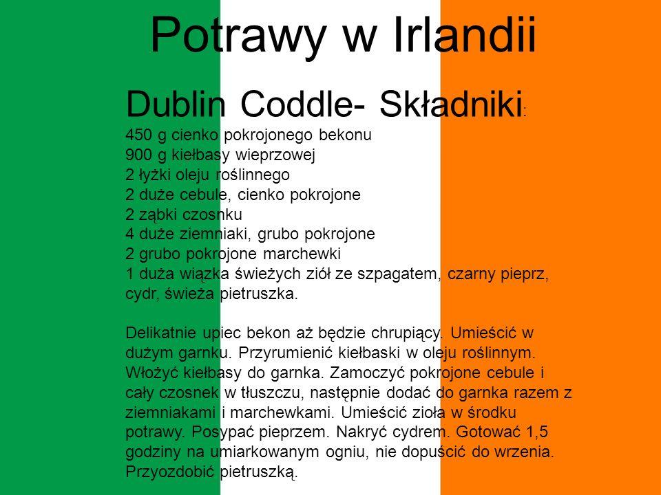 Potrawy w Irlandii