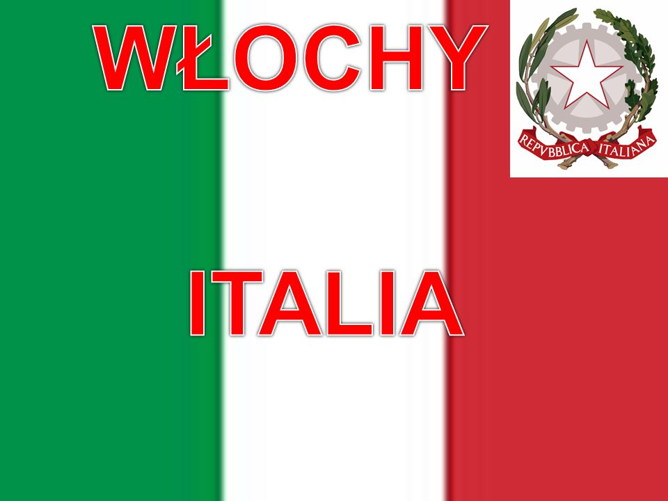 WŁOCHY ITALIA ITALIA