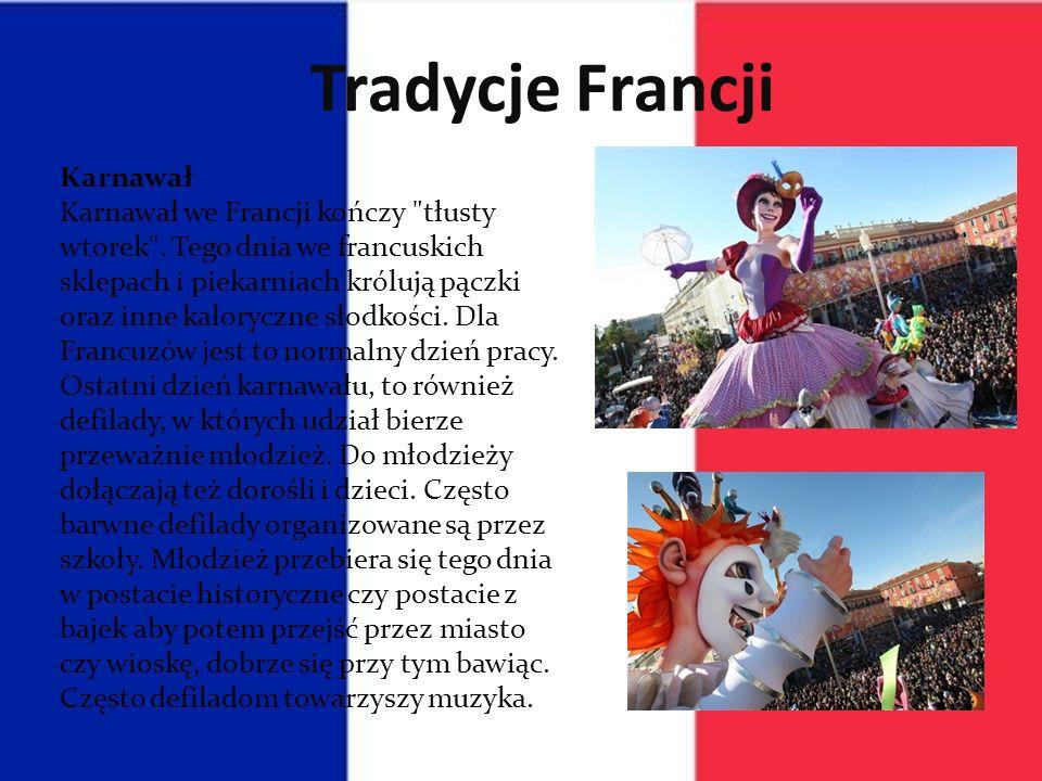 Tradycje Francji Karnawał