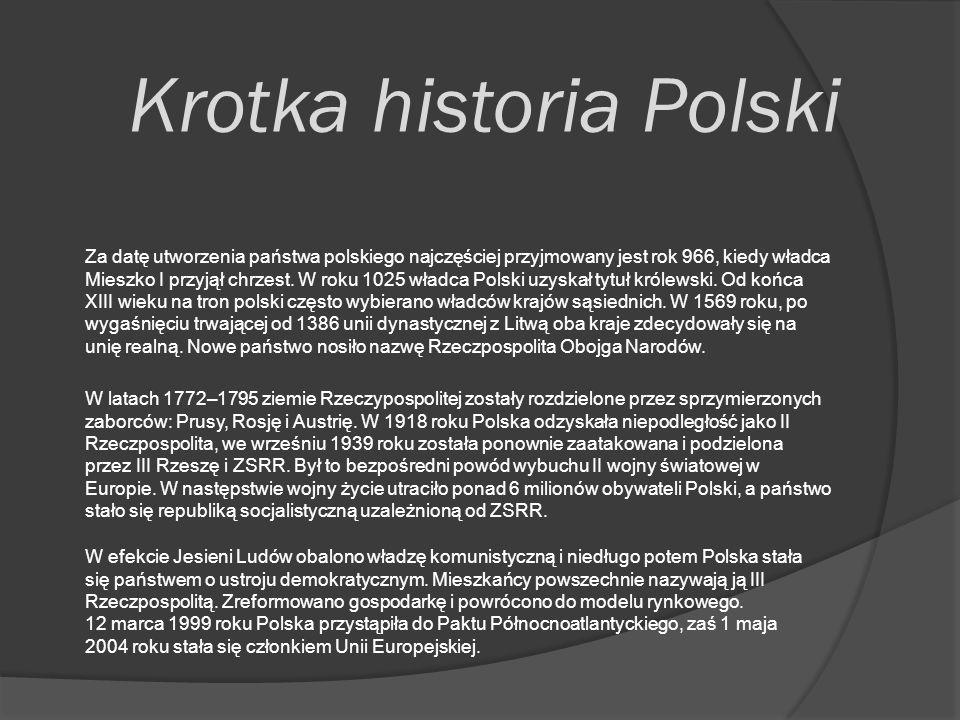 Krotka historia Polski