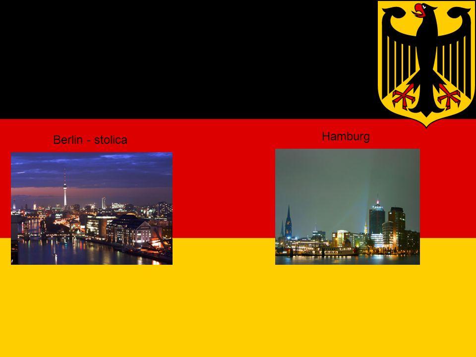 Duże miasta Hamburg Berlin - stolica