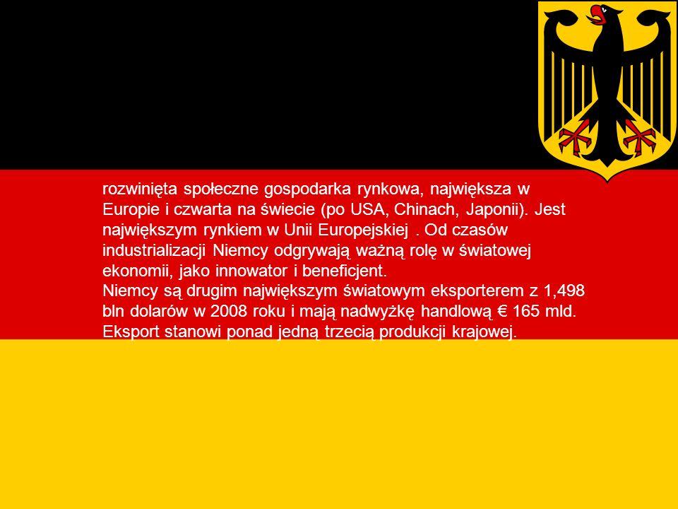 Gospodarka Niemiec