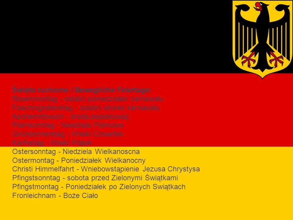 Święta religijne Niemiec