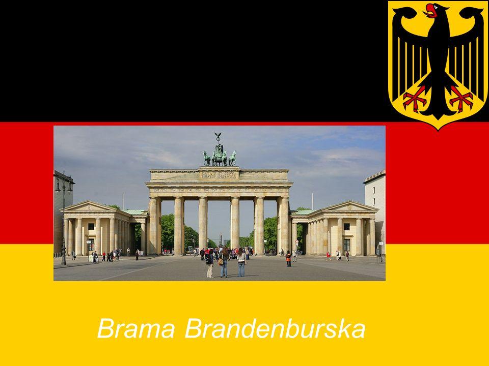 Zabytki Niemiec Brama Brandenburska