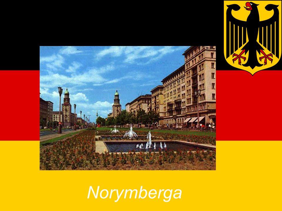 Zabytki Niemiec Norymberga