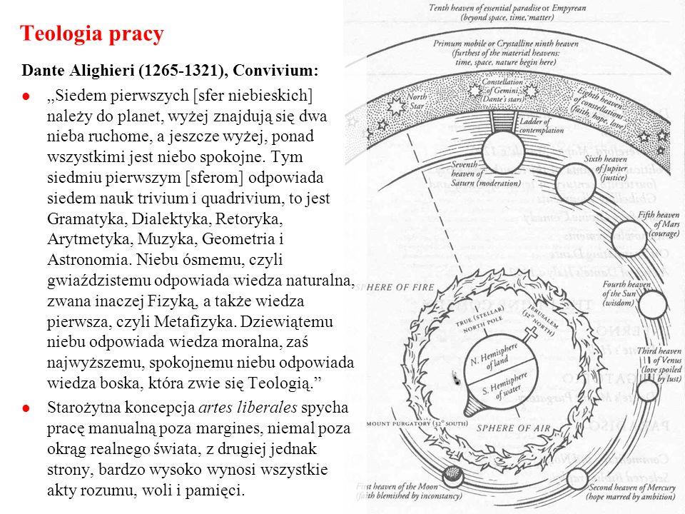 Teologia pracy Dante Alighieri (1265-1321), Convivium: