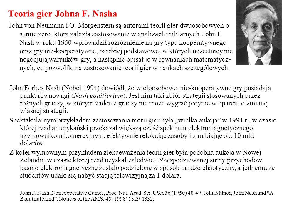 Teoria gier Johna F. Nasha