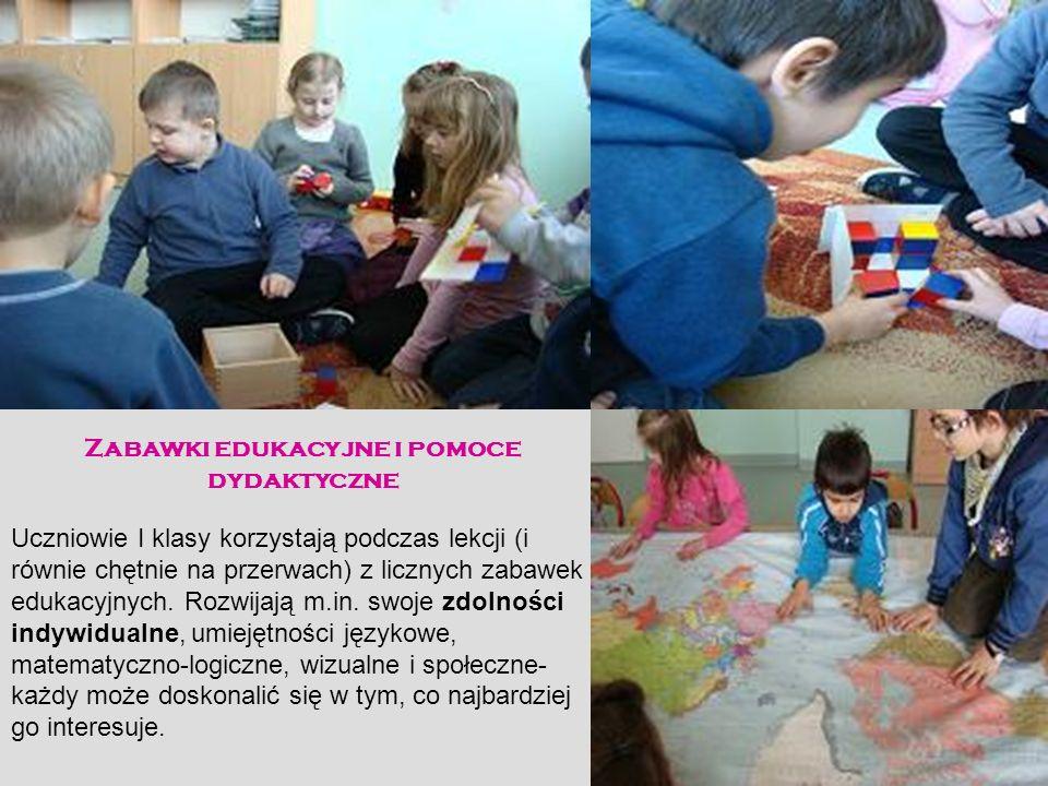 Zabawki edukacyjne i pomoce dydaktyczne