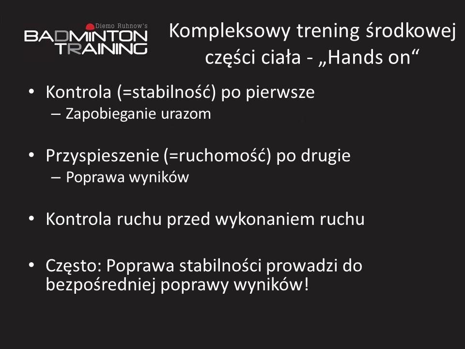"""Kompleksowy trening środkowej części ciała - """"Hands on"""