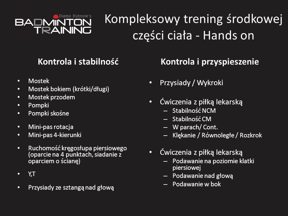 Kompleksowy trening środkowej części ciała - Hands on