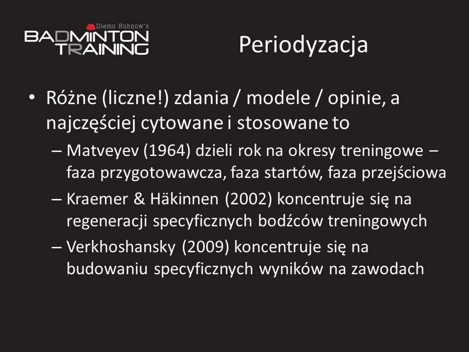 PeriodyzacjaRóżne (liczne!) zdania / modele / opinie, a najczęściej cytowane i stosowane to.