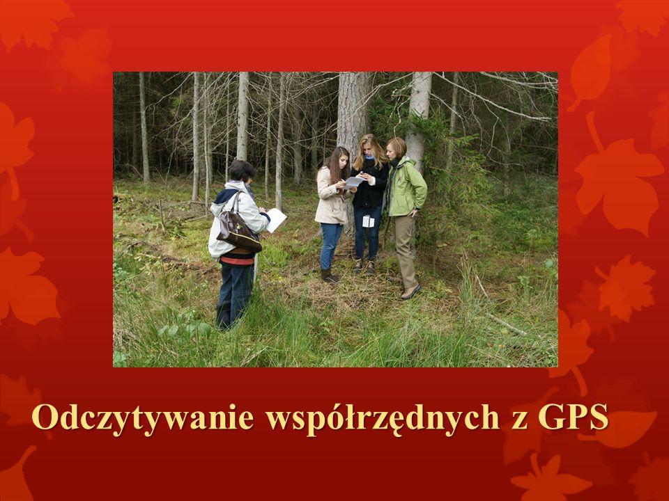 Odczytywanie współrzędnych z GPS