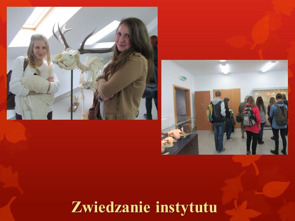 Zwiedzanie instytutu
