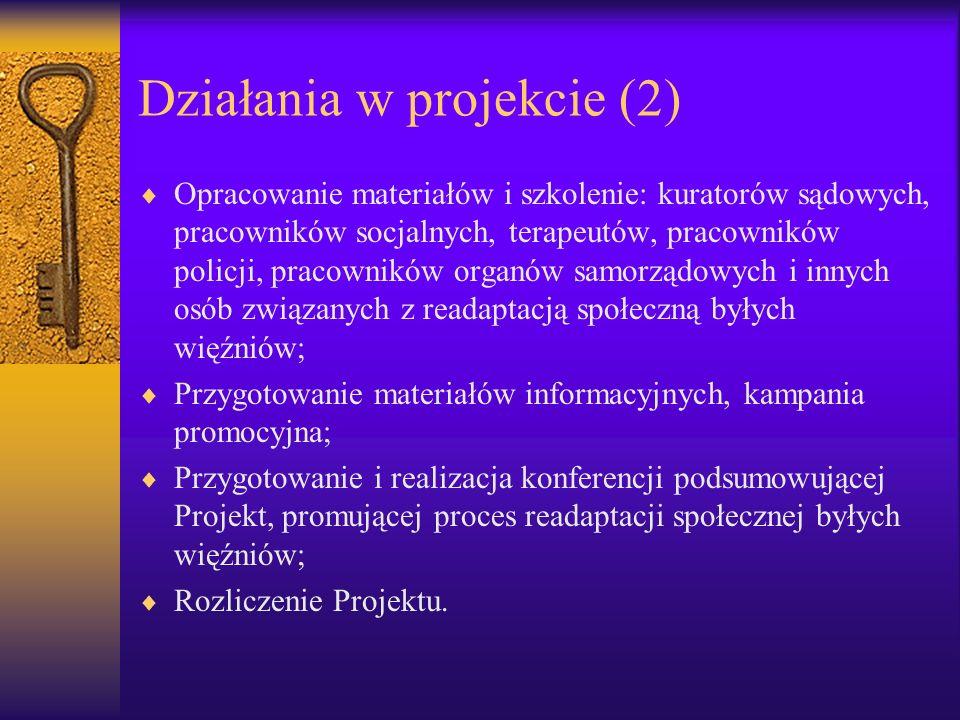Działania w projekcie (2)