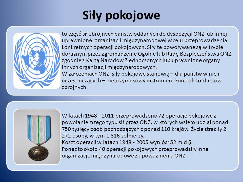 Siły pokojowe