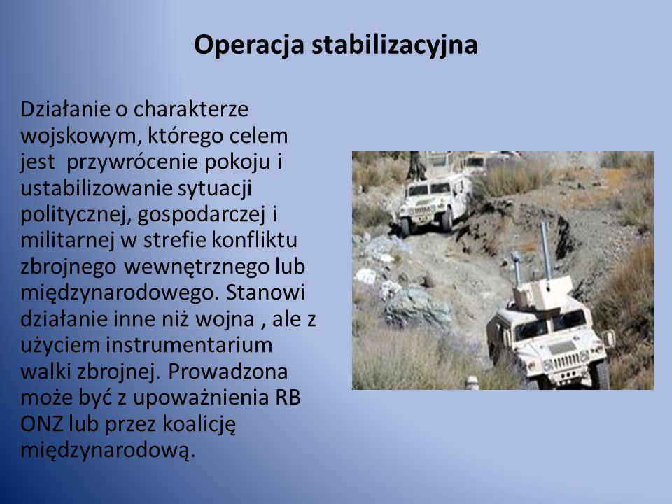 Operacja stabilizacyjna