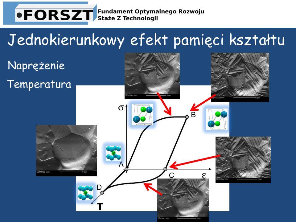 Jednokierunkowy efekt pamięci kształtu